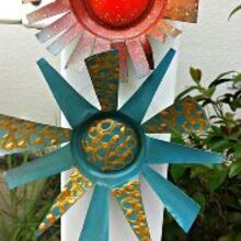 soda can art, crafts, gardening