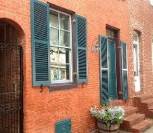why timberlane, curb appeal, products, Custom Color Louvered shutters from Timberlane