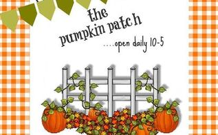 fall printables, crafts, seasonal holiday decor, Pumpkin Patch Printable