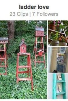 24 wow ideas from just a ladder, repurposing upcycling, Visit this ladder clipboard curated right from HomeTalk More are added daily