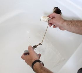 Awesome How To Unclog A Bathtub Drain The Easy Way, Bathroom Ideas, Cleaning Tips,