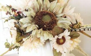 how to make a pumpkin vase, crafts, seasonal holiday decor