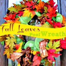 the secret to making your falldecor diy wreath look custom made, crafts, seasonal holiday decor, The Secret to making your DIY wreath look Custom