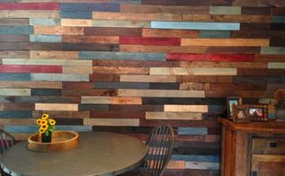 pallet wall, diy, home decor, pallet, repurposing upcycling, storage ideas, wall decor, Finished YAY I LOVE it