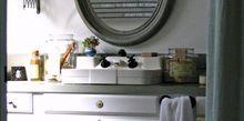 cottage bathroom makeover, bathroom ideas, home decor, Cottage bathroom makeover BeforeandAfter