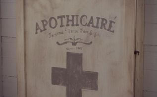 diy french apothecary cabinet, diy, how to, kitchen cabinets