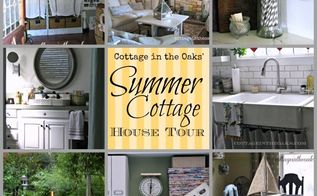 summer cottage house tour, home decor, Summer Cottage House Tour diy hometour summer