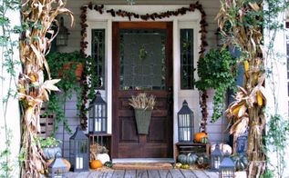 autumn front porch fall decor, outdoor living, porches, seasonal holiday decor, Fall Front Porch falldecor