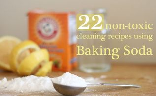 22 ways to clean with baking soda, cleaning tips