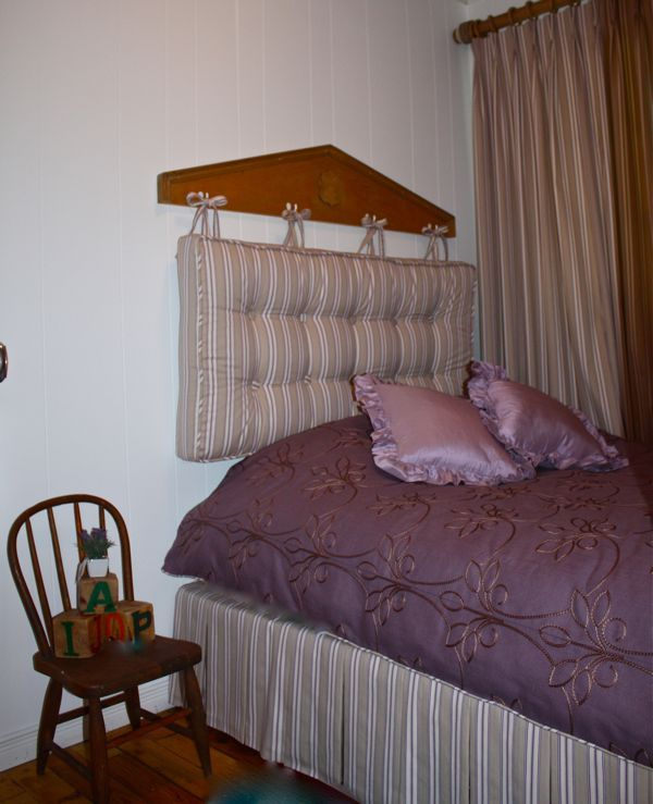 Cottage diy headboard for a little girls room hometalk for Diy little girls bedroom ideas