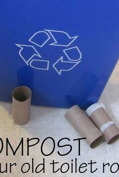how to compost your old toilet rolls, composting, go green, homesteading