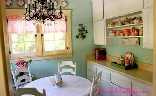 here s our 92 year old kitchen on a budget, home decor, kitchen design, Here s our kitchen nook