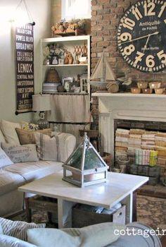 cottage living room, home decor, living room ideas, Cottage living room FavoriteRoom