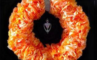 diy coffee filter wreath tutorial, crafts, wreaths