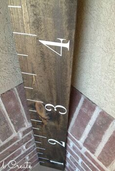 diy growth chart, crafts, woodworking projects
