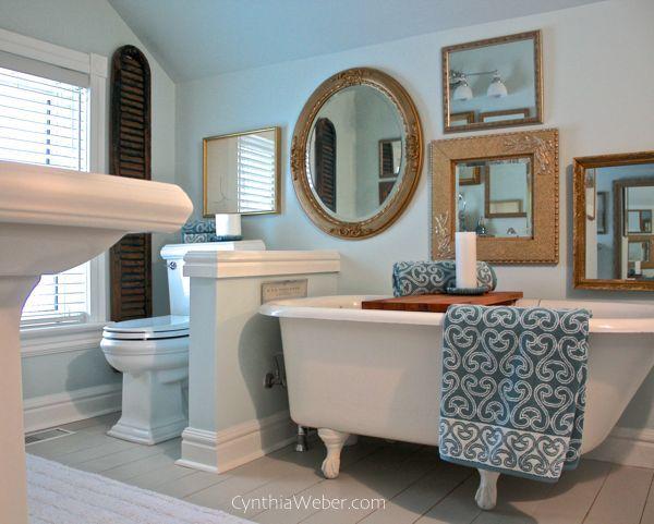 Vintage Bathrooms: Creating A Vintage Glam Bathroom...