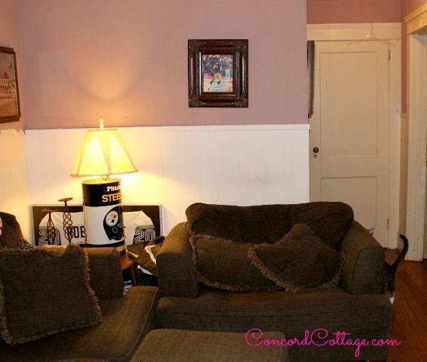 pittsburgh steelers football themed tv room hometalk steelers bedroom ideas