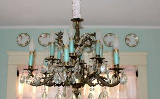how to make a chandelier chain cover, crafts, lighting