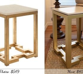 Diy Side Tables With Greek Key Base, Diy, Painted Furniture, The  Inspiration Table
