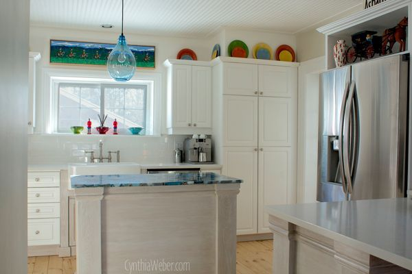 Fun And Cheery Cottage Kitchen Reno Countertops Home Decor Home Improvement Kitchen