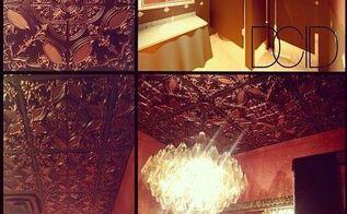 restaurant ceiling makeover interior design and decor, home decor, tiling