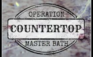 install laminate countertop tutorial, countertops, diy, how to