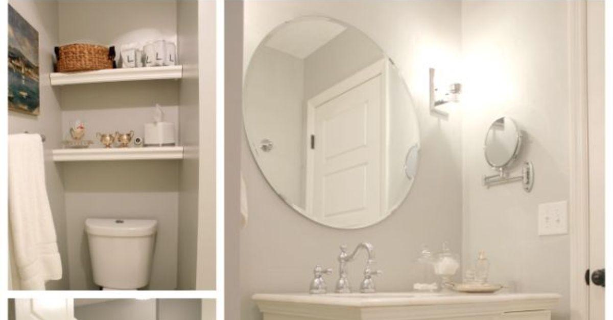 Small Bathroom Remodel This Old House diy bathroom renovation for under $700 | hometalk