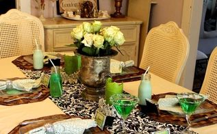 st patrick s day round up, seasonal holiday d cor, St Patrick s Day Table and step by step how to set a table with things in your home