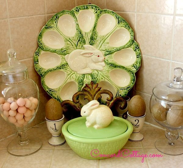 Easter Home Tour Easter Decorations Repurposing Upcycling Seasonal Holiday D Cor Wreaths