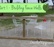 building garden fence walls, diy, fences, how to, landscape, repurposing upcycling