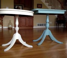 perfectly painted vintage tables, painted furniture