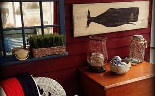 nautical decor for a summer porch, home decor, porches