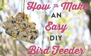 make a cookie cutter bird feeder in 8 simple steps, crafts, outdoor living, pets animals