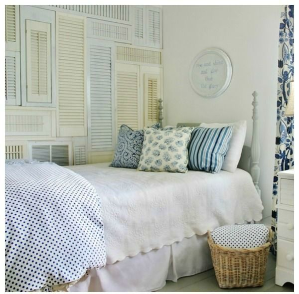 Repurposed Home Decor: 10 Great Ideas For Decorating Ideas For Shutters