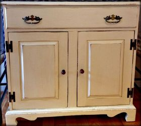 Country Pine Commode Before After, Chalk Paint, Home Decor, Painted  Furniture