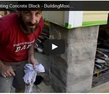 small tips for painting concrete block, concrete masonry, curb appeal, diy, how to, painting