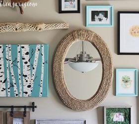 diy nautical rope mirror crafts