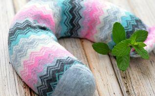 diy aromatherapy spa pillow, crafts