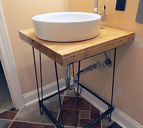 Diy A Bathroom Vanity, Bathroom Ideas, Diy, How To, Woodworking Projects Part 90