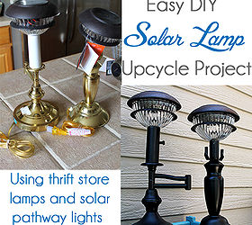 Diy Solar Lamps, Diy, Lighting, Outdoor Living