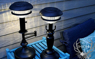 diy solar lamps, diy, lighting, outdoor living