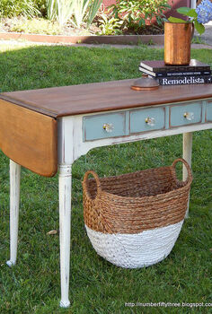 versatile country desk, painted furniture
