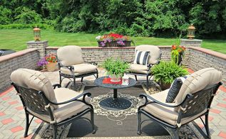 tlb s backyard patio style, flowers, gardening, outdoor living, patio