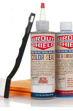 how to change the look of your tile grout for less then 30 dollars, cleaning tips, tiling, Grout Shield Color Seal
