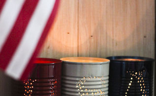 4th of july luminaries, crafts, patriotic decor ideas, seasonal holiday decor