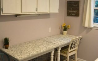 before after my pretty lavender laundry room makeover, diy, home decor, how to, laundry rooms