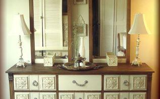 1940 s dresser revival, painted furniture