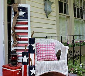 Holiday Outdoor Decor Idea Box By Front Porch Ideas Hometalk, Patriotic  Garden Decor, Patriotic