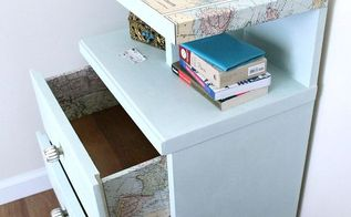16 creative ways to decoupage furniture, decoupage, painted furniture