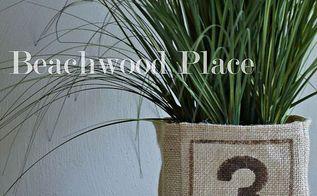 diy burlap plant cover, crafts, gardening
